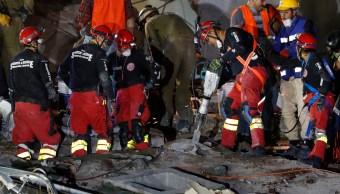 Recuperan tres cuerpos más en edificio colapsado de Álvaro Obregón; suman 38