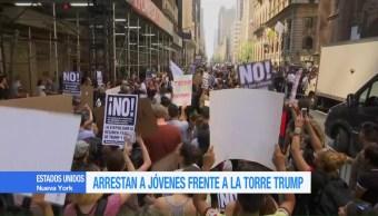 Arrestan, Torre, Trump, dreamer