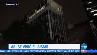 Así Vivió Sismo 8.2 México