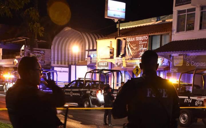 Tiroteo en un bar de Irapuato deja cinco muertos