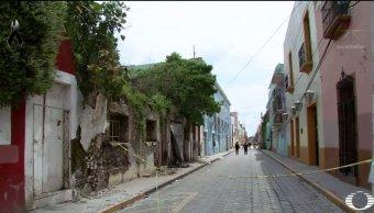 Atlixco, Puebla, sufre graves daños