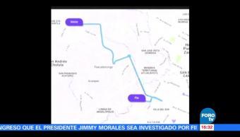 Buscan Joven Desaparecida Puebla Autoridades Taxi