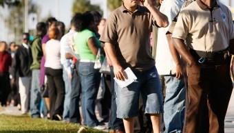 Caen las solicitudes de ayuda por desempleo