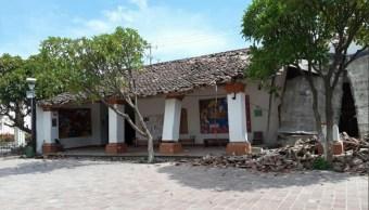 casa de cultura de juchitan queda dañada por sismo