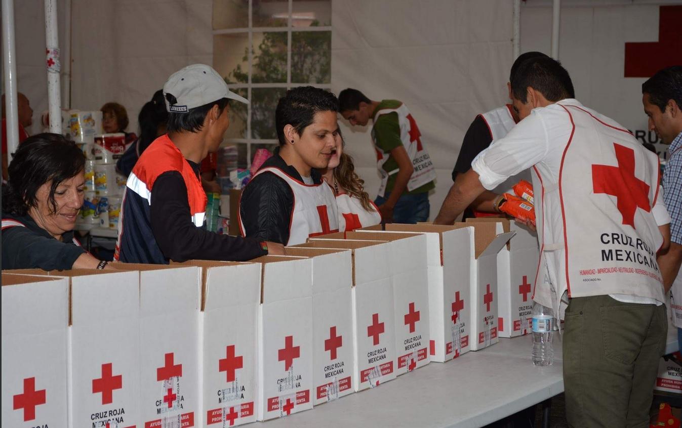 Cruz Roja habilita centros de acopio para damnificados