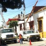CFE repara daños en oaxaca y chiapas por sismo