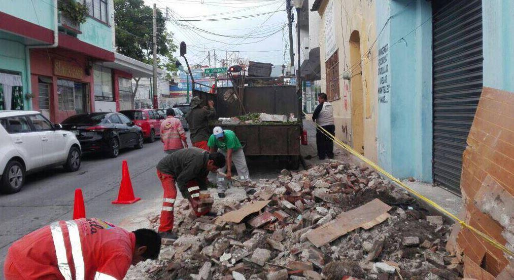Al menos 40 mil viviendas sufrieron daños por el sismo en Chiapas