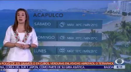 Clima Aire Prevén Vientos Fuertes Oleaje Guerrero Oaxaca