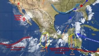 Se prevén lluvias fuertes en 30 estados del país