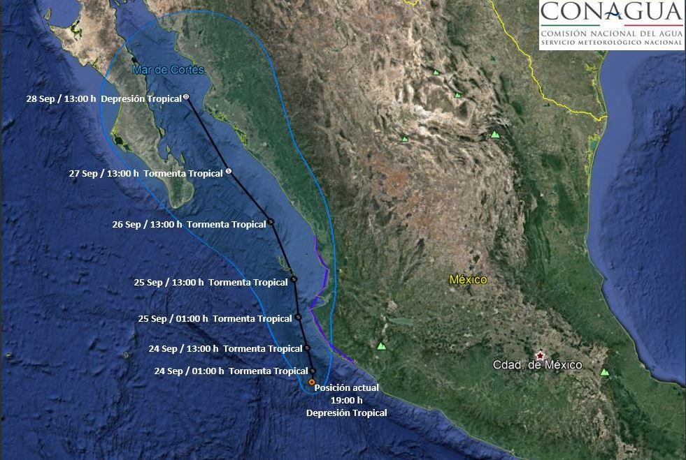 Evacuaciones y suspensiones en Jalisco por tormenta Pilar