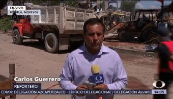 Continúa Retiro Escombros Jojutla Morelos