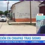 Continúa temor por réplicas del sismo del jueves en Tuxtla Gutiérrez Chiapas