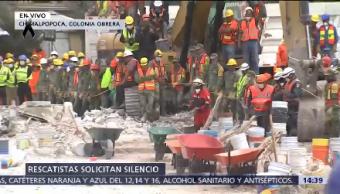 Continúan Labores Rescate Colonia Obrera