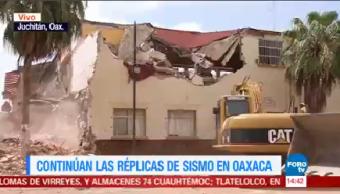 Continúan Réplicas Oaxaca Sismo 8.2 Oaxaca
