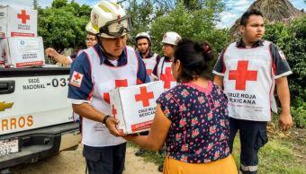Cruz Roja Somos transparentes ayuda propia mano
