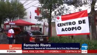 Cruz Roja Solicita Ciudadanía Continúen Donacion Damnificados