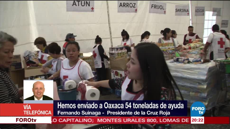 Cruz Roja sugiere donación en efecCruz Roja sugiere donación en efectivo para damnificadostivo para damnificados