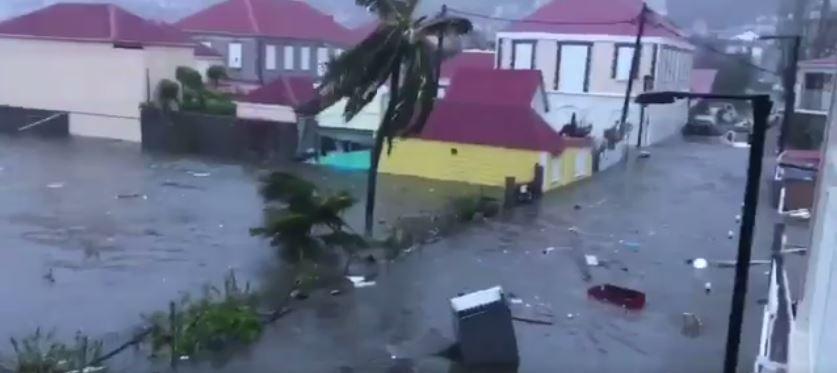 Daños del huracán 'Irma' sobre San Bartolomé
