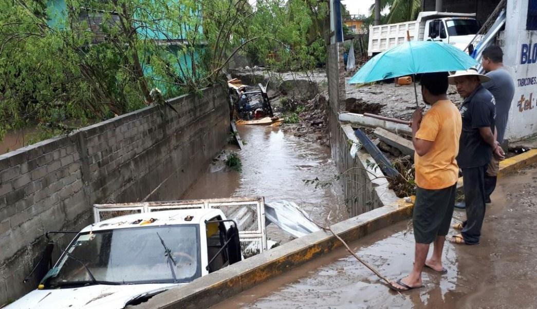 daños en guerrero por paso del huracán max en guerrero