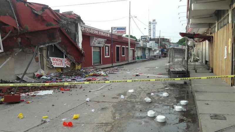 oaxaca y chiapas mas 100 mil viviendas afectadas sismo