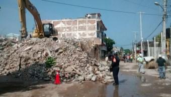 avanza demolicion viviendas danadas sismo oaxaca