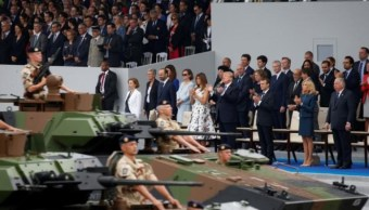 Trump quiere un desfile militar similar al del Día de la Bastilla
