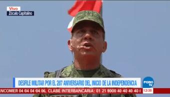 Desfile Militar 207 Aniversario Independencia México 16 De Septiembre