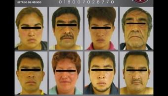 Vinculan proceso ocho presuntos delincuentes Edomex