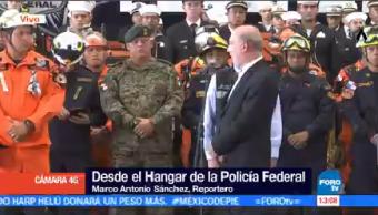 Director Cenapred Reconoce Trabajo Brigadistas Panamá