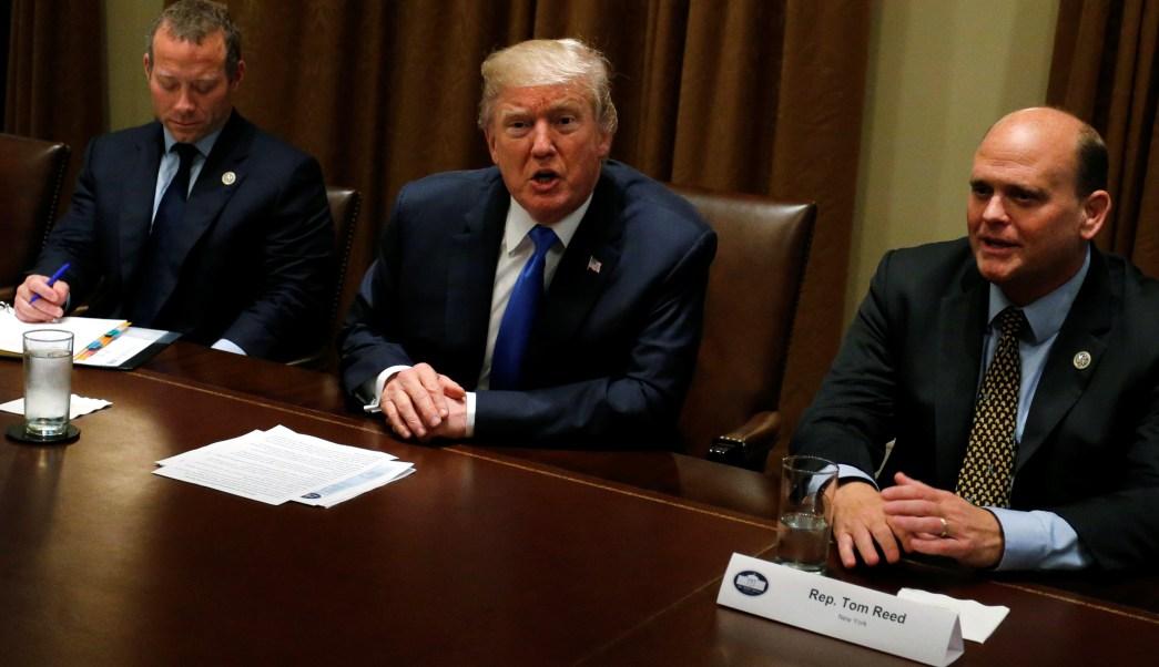 Trump aborda legisladores futuro dreamers Estados Unidos