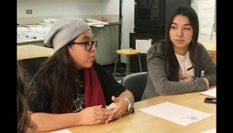 jovenes estudiantes en Estados unidos DACA
