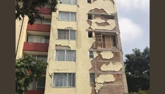 Los damnificados sismo Paseo de Taxqueña