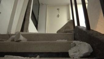edificios de la cdmx registran grietas tras sismo