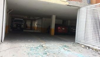 Edificio de la calle morelia es evaucado por daño severo