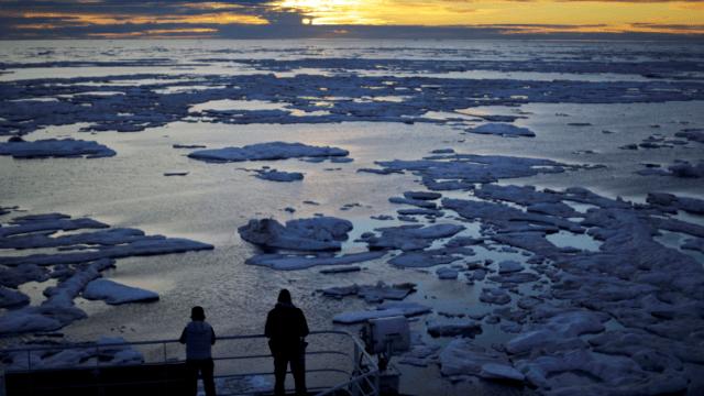 El calentamiento global ha provocado aumento del deshielo en el planeta