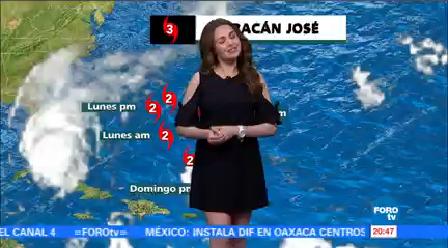 Clima Noticias Mayte Carranco Onda Tropical Número Zona De Inestabilidad