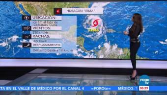 Clima Sábados Foro Mayte Carranco Depresión Tropical Katia