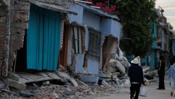 El terremoto causó severos daños en Jojutla, Morelos