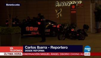 Elevador se atora en edificio de avenida Reforma durante sismo