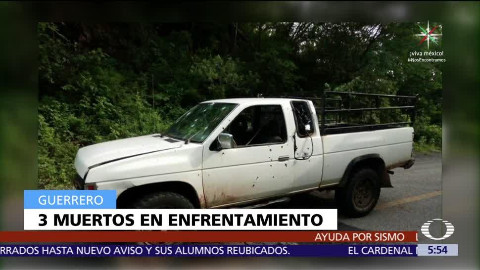 Enfrentamiento, Coyuca, Catalán, Guerrero