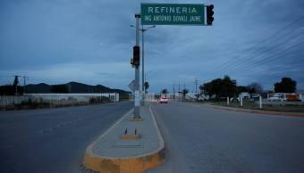 Entrada a la refinería Antonio Dovalí, en Salina Cruz, Oaxaca