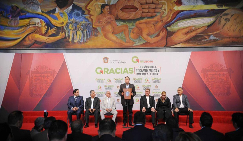 eruviel avila presenta sexto informe gobierno