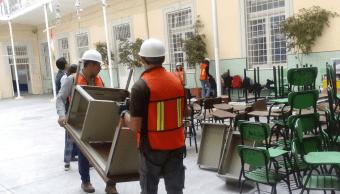 Escuelas Puebla regreso clases escalonada sismo
