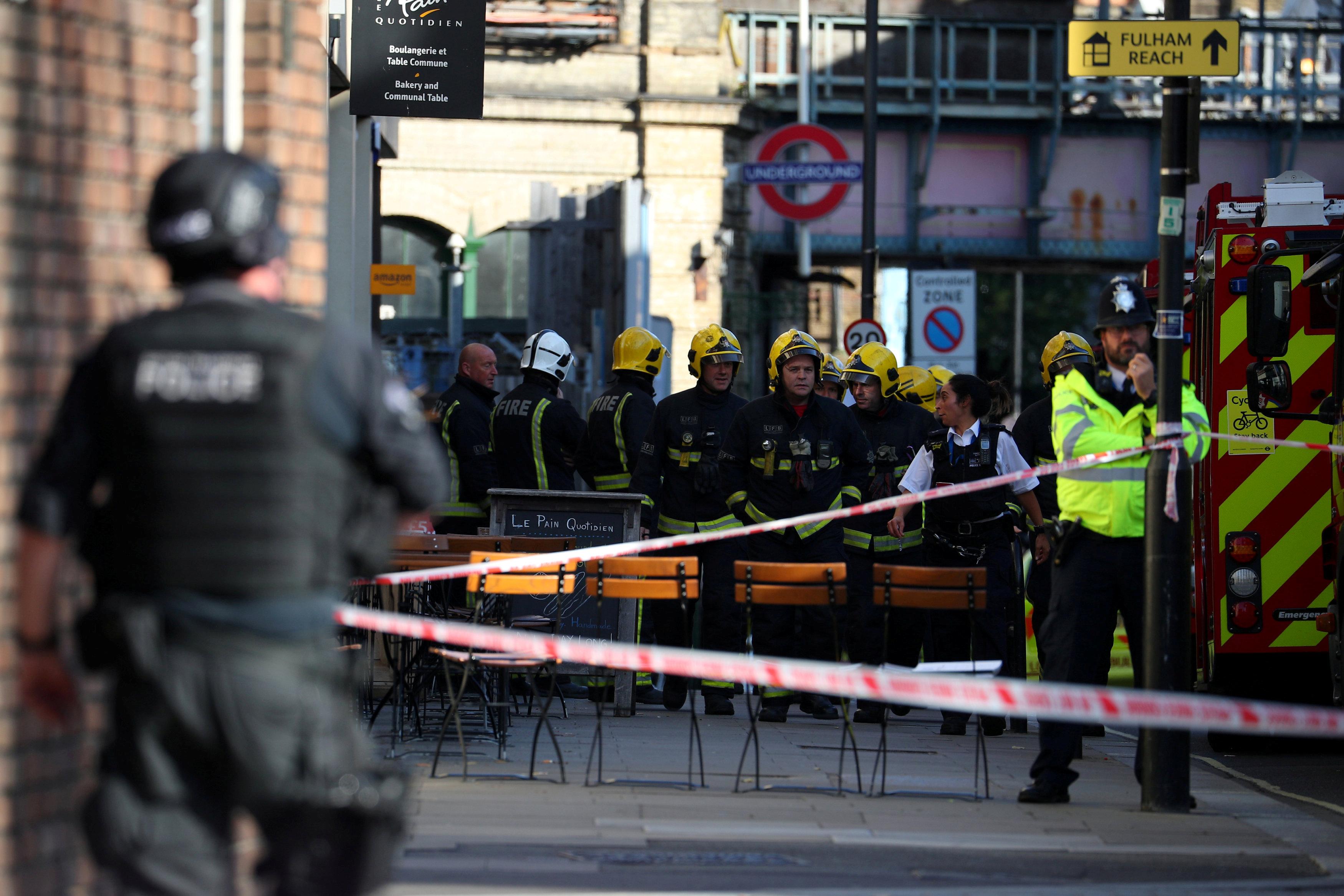 Ataque en metro de Londres deja 22 heridos