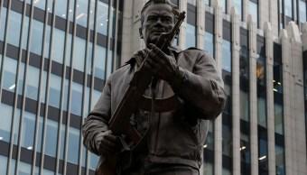 Creador del Kalashnikov ya tiene su estatua en el centro de Moscú