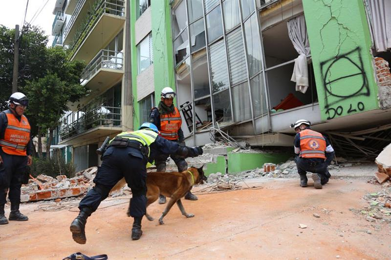 En riesgo de colapsar 27 edificios en la delegación Cuauhtémoc