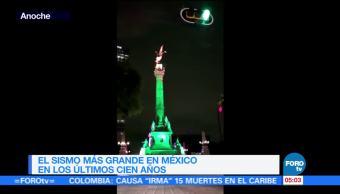 Fuerte sismo sacude la Ciudad de MéxicoFuerte sismo sacude la Ciudad de México