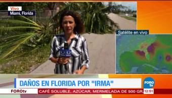 Fuertes, vientos, lluvias, Irma