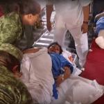 Fuerza Aérea Mexicana traslada a heridos en Oaxaca tras sismo