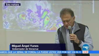 Gobernador Veracruz Realiza Balance Katia